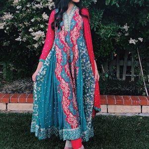 beautiful indian/pakistani shalwar kameez dress